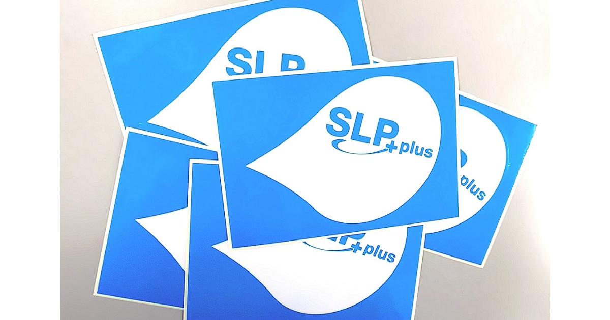 SLP PLUS ステッカーのご紹介!